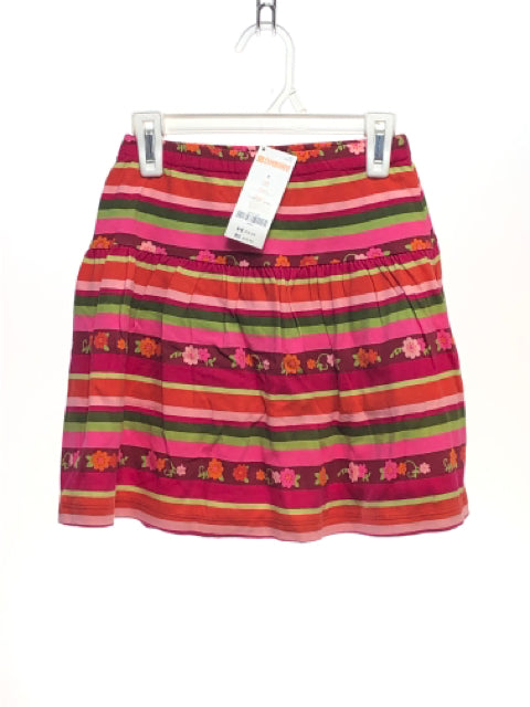 Girl's Gymboree SIZE 8 Pink NEW with TAGS Striped Skirts / Skorts