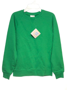 Girl's Hanna Andersson SIZE 10 Green NEW Solid Long Sleeve Sweatshirt