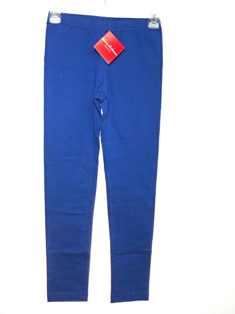 Girl's Hanna Andersson SIZE 10 Blue NEW Solid Leggings