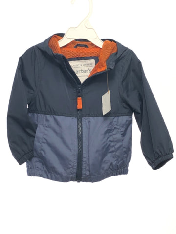 Carters SIZE 18 Months Navy Hooded Jacket