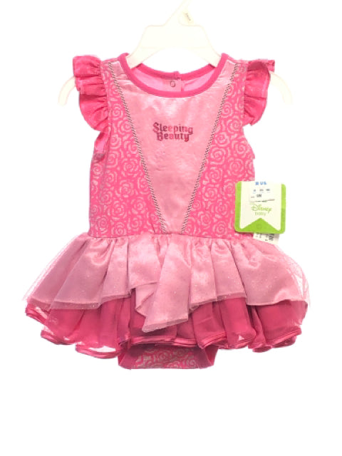 Disney SIZE 6 Months Pink NEW Ruffle Dress