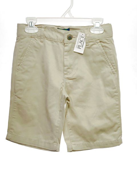 Children's Place SIZE 7 Tan NEW Solid Shorts