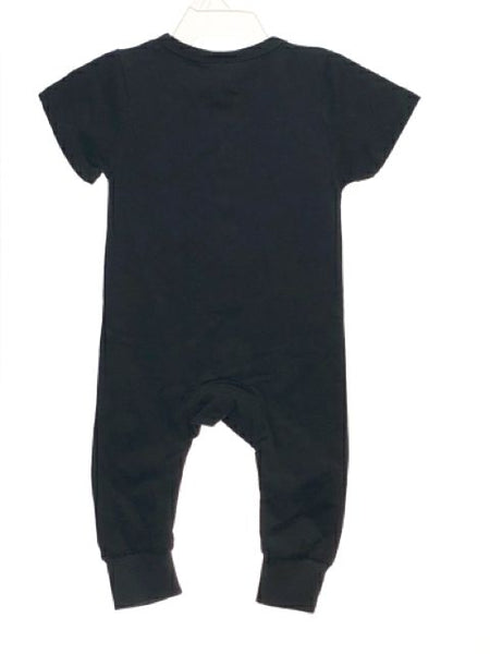 Unisex Little Bipsy SIZE 3-6 Months Black NEW with TAGS Solid Romper / Jumpsuit