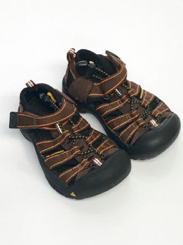 Keen SIZE 8 Toddler Brown Sandal Velcro Shoes