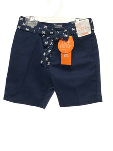 Gymboree SIZE 5 Navy NEW Solid Adjustable Waist Shorts