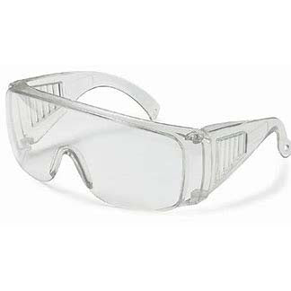 Safety Goggles Glasses, Clear, 12 Per Box