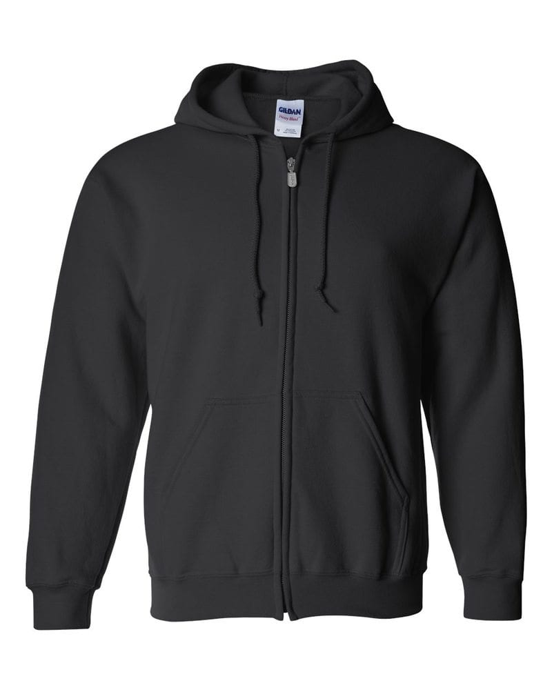 Men's Full Zipped Hooded Sweatshirt
