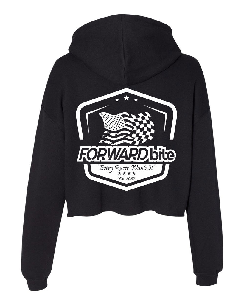 """Flag Collection""Ladies Cropped Fleece Hoodie"