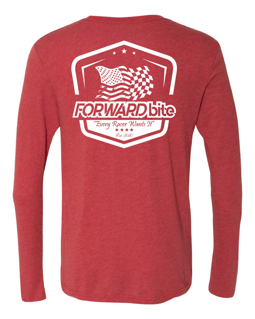 """Flag Collection"" Men's Long Sleeve Crew!"