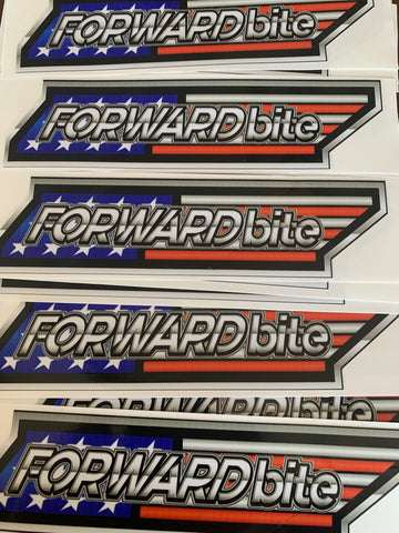 Limited Edition Flag Decal
