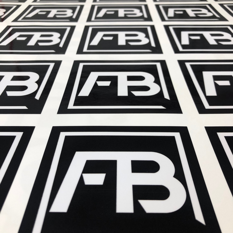 FB Square Decal