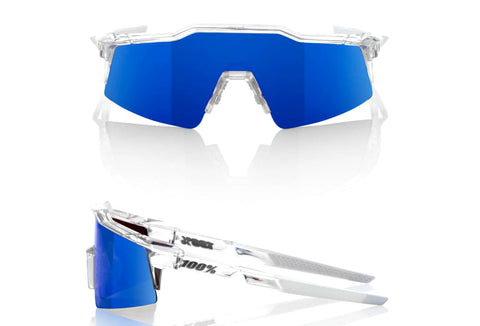 100% SPEEDCRAFT SL – AURORA – ICE BLUE MIRROR LENS