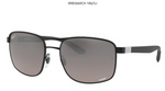 RAY-BAN MATTE BLACK ON BLACK- MENS