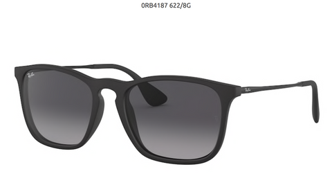 RAY-BAN CHRIS- RUBBER BLACK