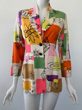 Load image into Gallery viewer, Spring 1994 Runway Todd Oldham & Kenny Scharf blazer