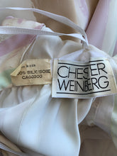Load image into Gallery viewer, 1970s Chester Weinberg halter silk dress with scarf wrap