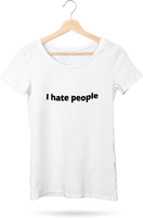 I Hate People Women's Flowy T-Shirt