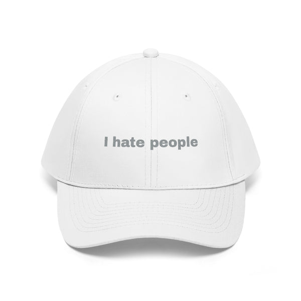I Hate People Hat