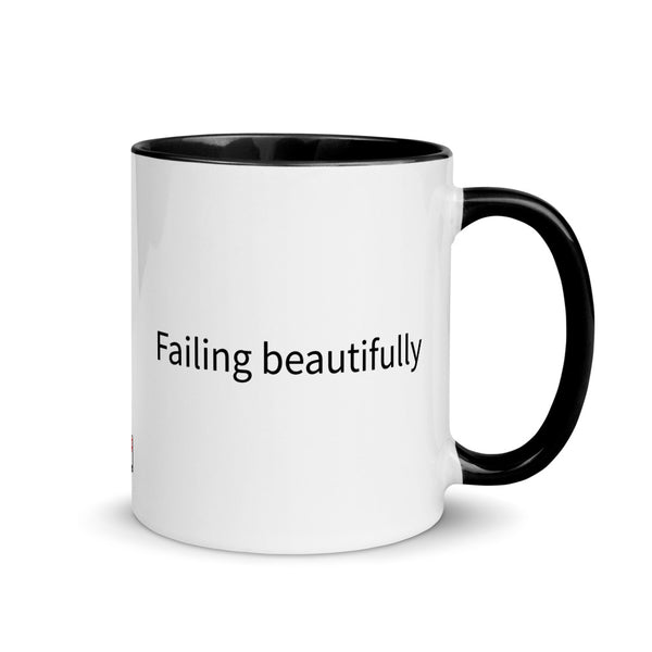 Failing Beautifully Mug