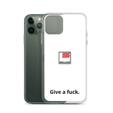Drillium - Give A Fuck iPhone Case