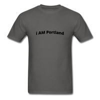 I AM Portland Men's T-Shirt - charcoal
