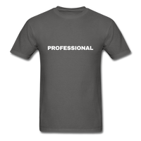 Professional Men's T-Shirt in black - charcoal