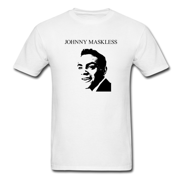 Johnny Maskless Men's T-Shirt - white
