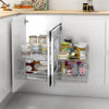 KKPL Kitchen Cabinet Space Savings TCC Magic Corner Storages