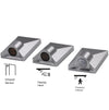 +LED™ Exterior Flat Surface Mounted Sensors wardrobe | Kitchen | Drawers | lightings