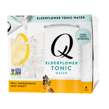 Load image into Gallery viewer, Elderflower Tonic Water - 24pk/7.5 fl oz Cans