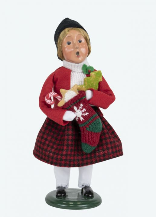 Byers Choice Gingerbread Girl 2019
