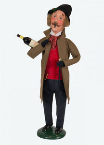 Byers Choice Victorian Man with Wine 2018