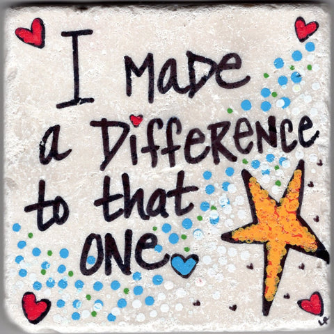 Care's Coasters - I Made a Difference