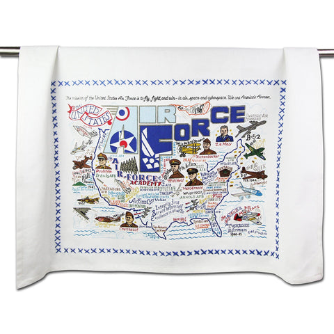 Cat Studio Air Force Dish Towel