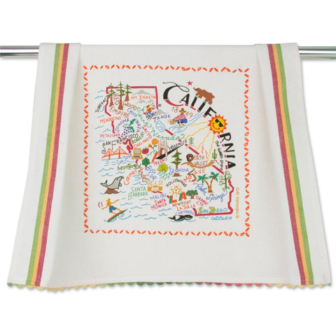 Cat Studio California Dish Towel