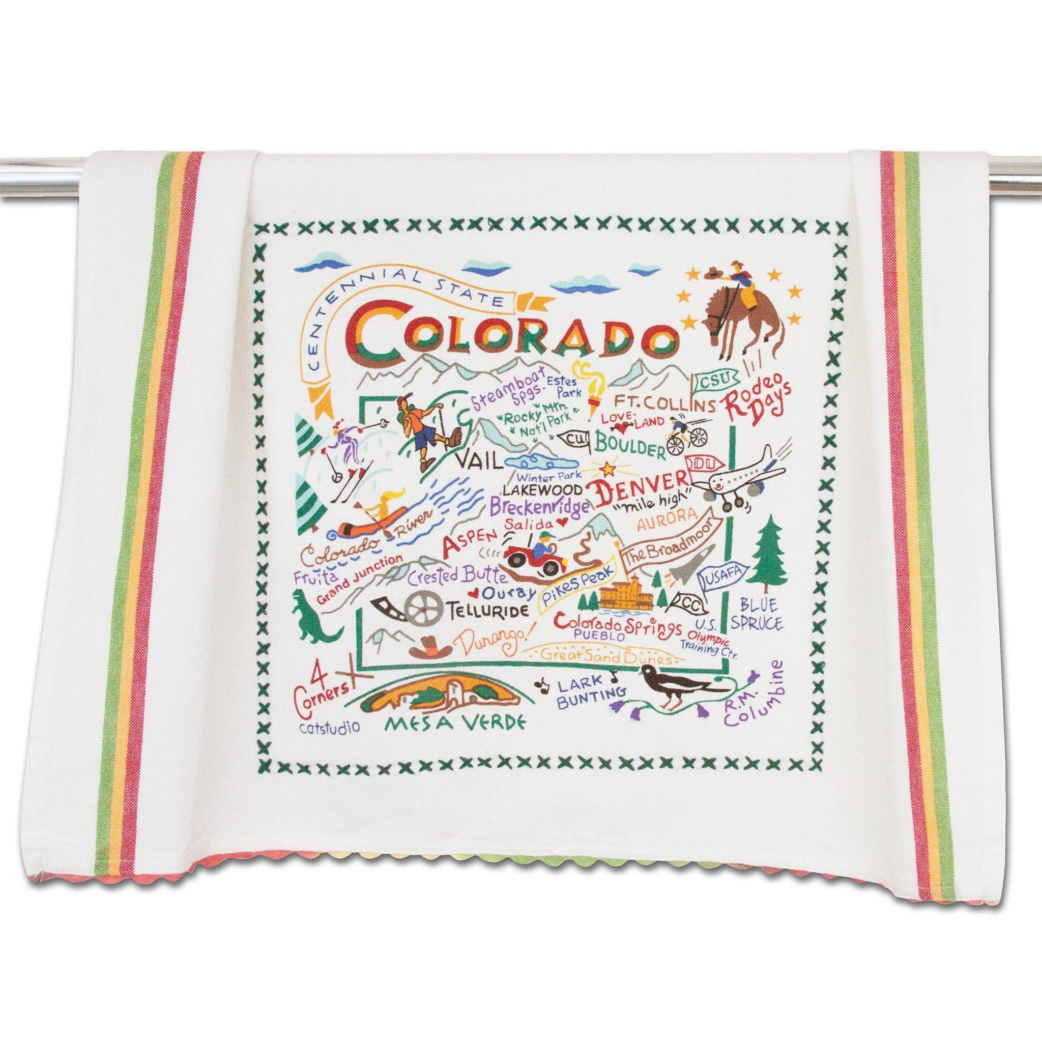 Cat Studio Colorado Dish Towel