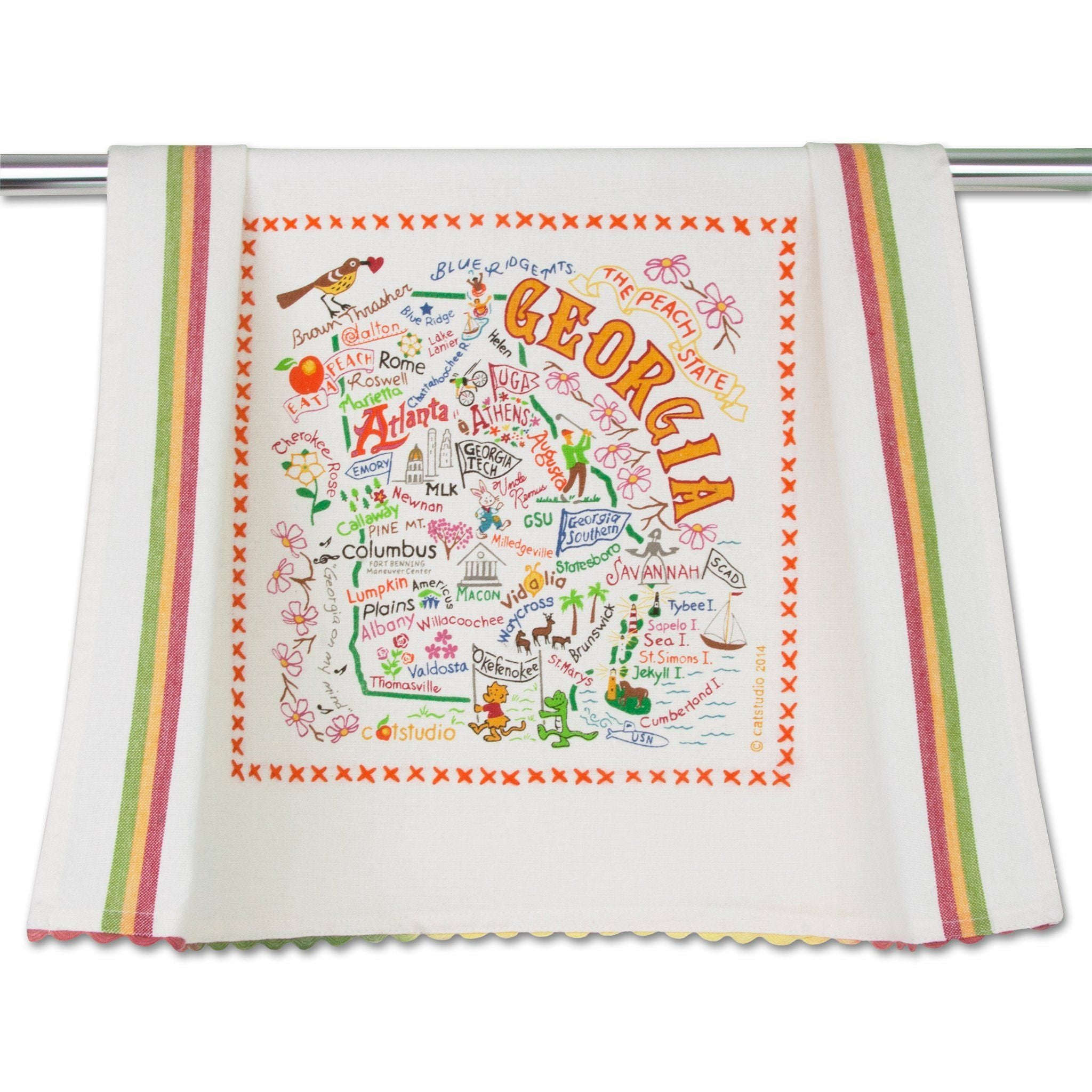 Cat Studio Georgia Dish Towel