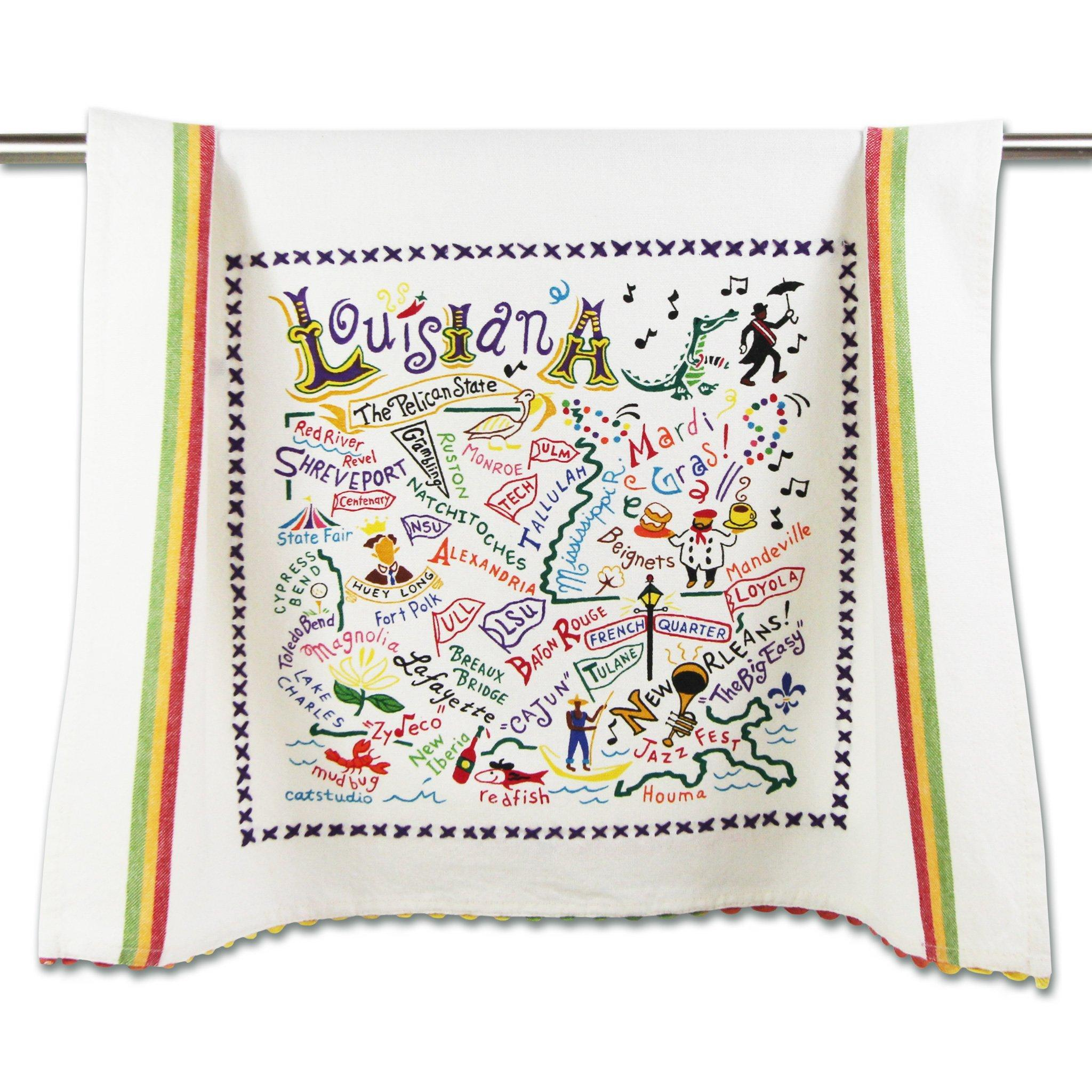 Cat Studio Louisiana Dish Towel