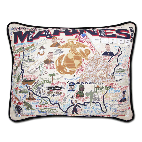 Cat Studio Marines Printed Pillow