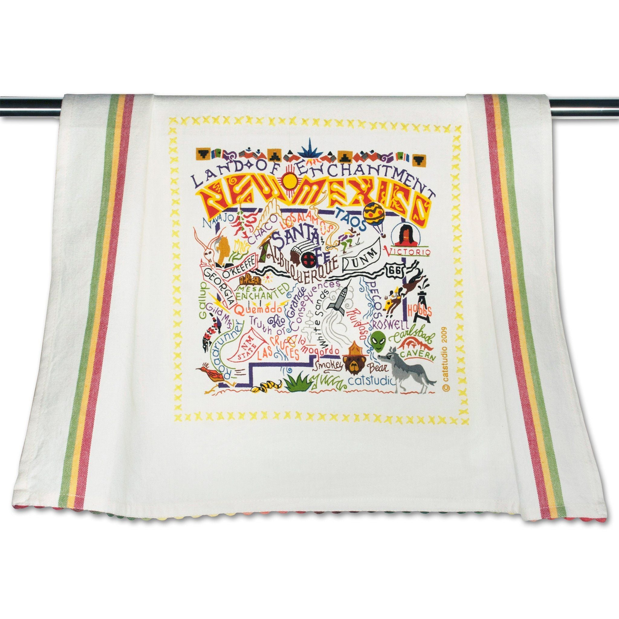 Cat Studio New Mexico Dish Towel