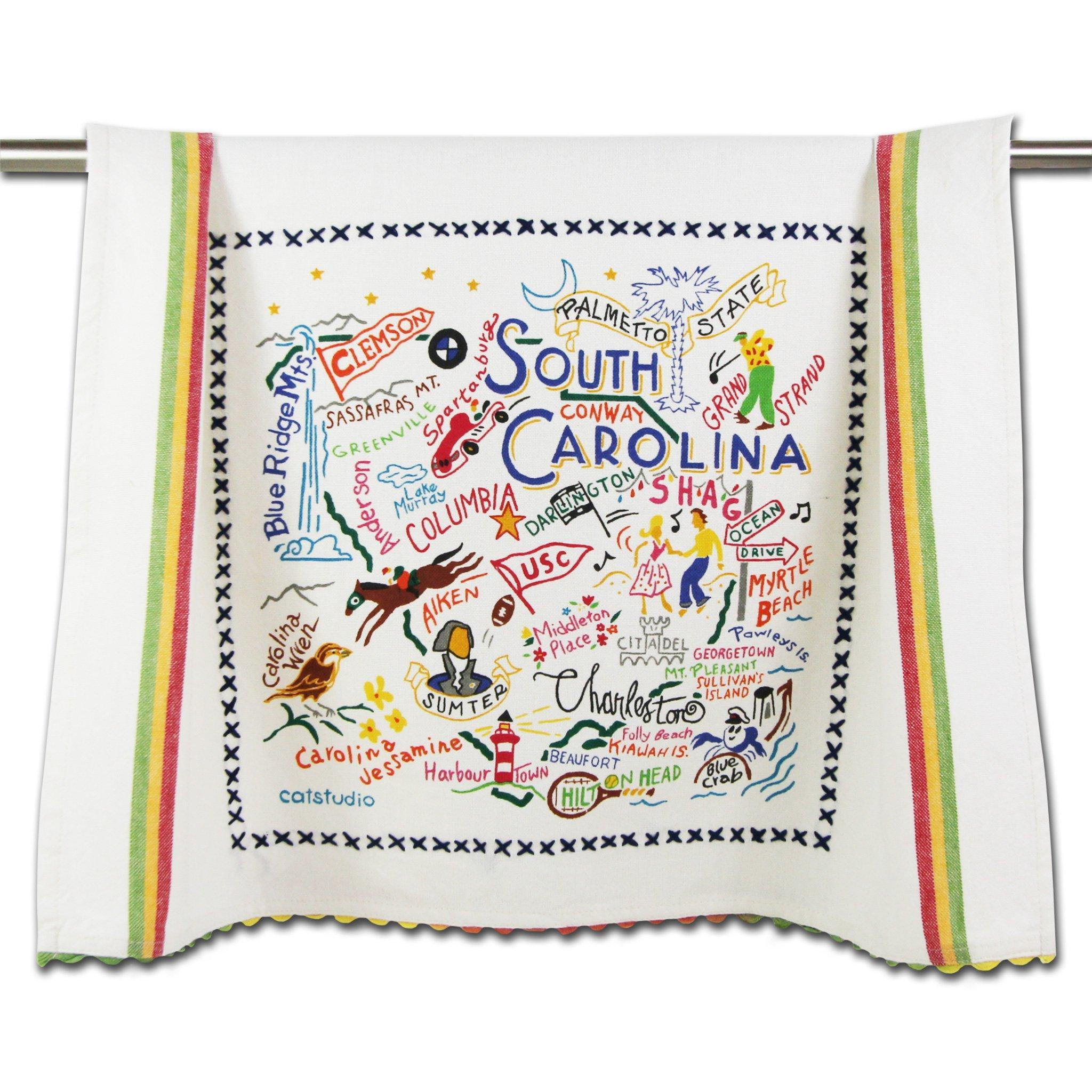 Cat Studio South Carolina Dish Towel