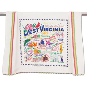 Cat Studio West Virginia Dish Towel