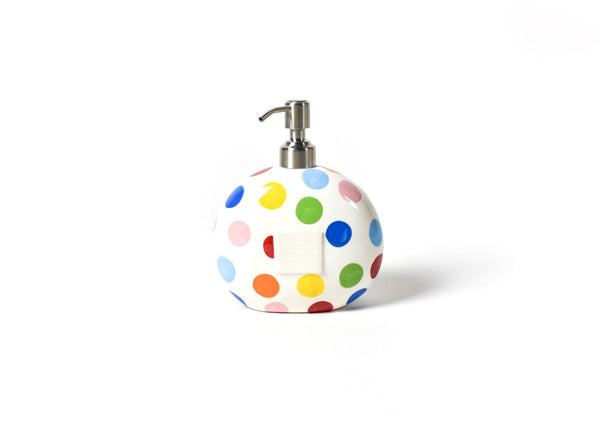 Happy Everything Bright Dot Soap Pump (Large Dots)