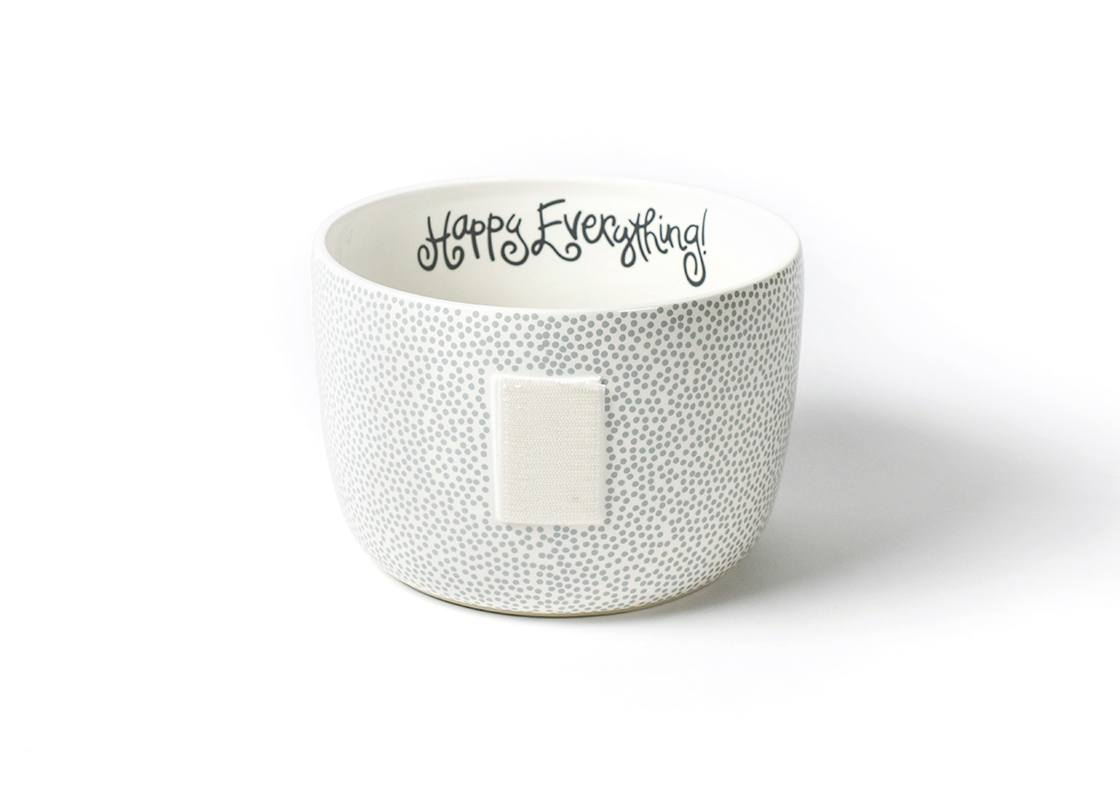 Happy Everything Stone Small Dot Bowl (Big)