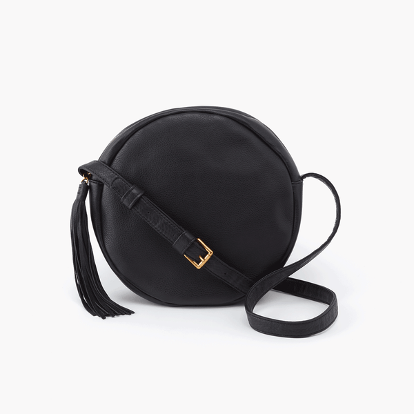 Hobo Groove Crossbody (Black)