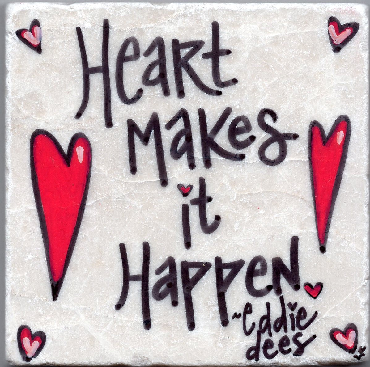 Care's Coasters - Heart Makes It Happen!