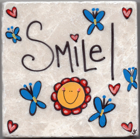 Care's Coasters - Smile
