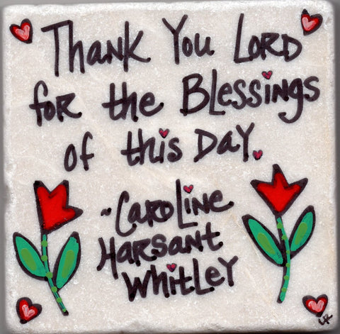 Care's Coasters - Thank You Lord