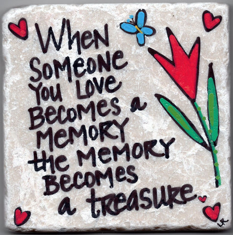 Care's Coasters - Memory Becomes a Treasure