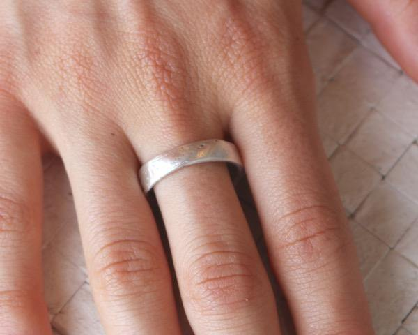 Western Wall Ring (thin band)